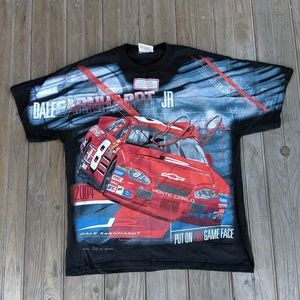 Double sided Dale Earnhardt Jr. Tee